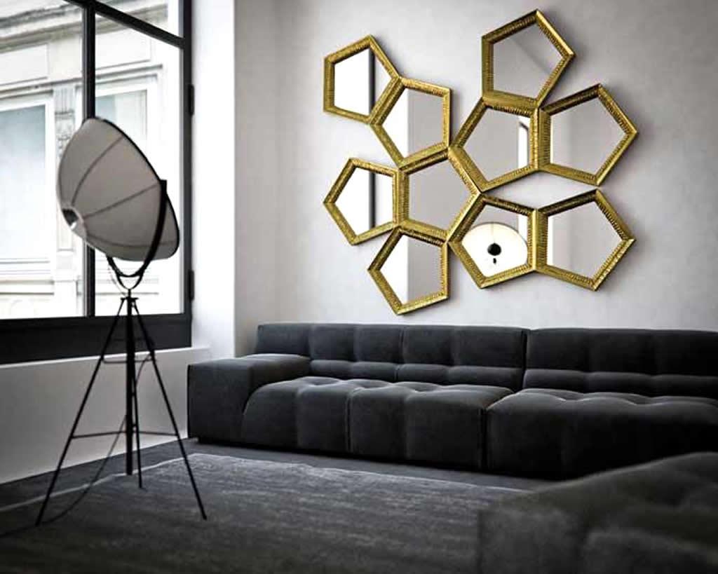 Mirror wall pictures decor 3 Piece Mirror Wall Decor Wayfair
