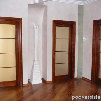 Рифленое стекло для межкомнатной двери