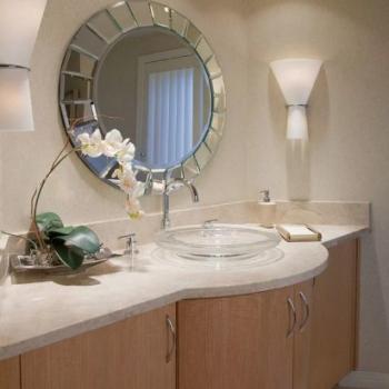 Зеркало в ванную комнату, как элемент дизайна