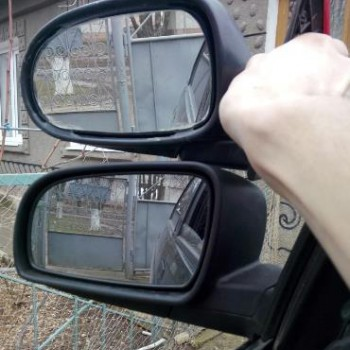 Зеркало автомобильное. О замене