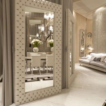 Декор зеркала - основные идеи от ведущих дизайнеров
