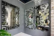 Зеркальная мозаика: круглые элементы