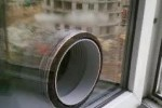 Сверление стекла под вывод кондиционера