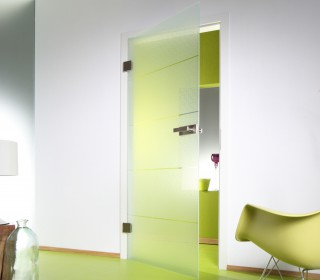 Стеклянные двери. Сверление отверстий под крепления