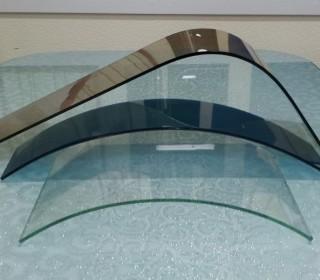 Моллирование стекла (гнутое стекло)