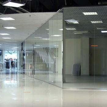 Листовое стекло для торговых центров
