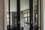 Резка стекла для вставки в двери