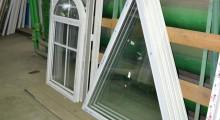 Стекло для нестандартного окна