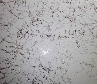 Зеркало матовое узорчатое серебро
