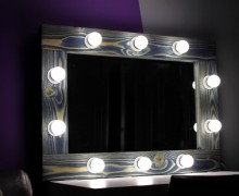 Зеркало для коридора с подсветкой