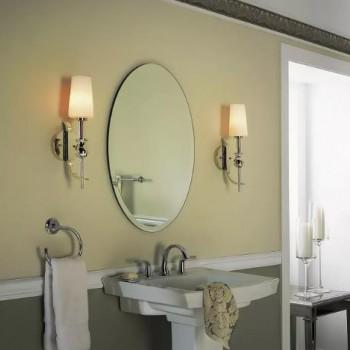 Зеркало в ванную недорого. А как заиграет комната